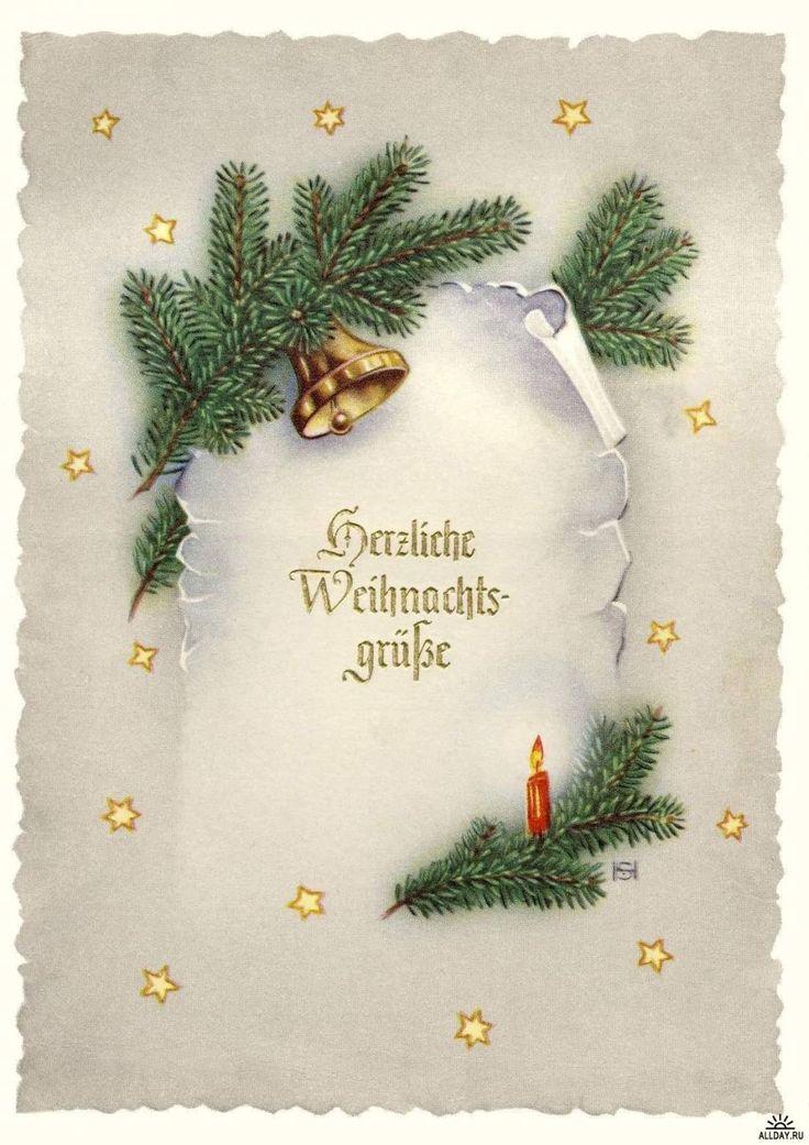 Рождественская открытка на немецком языке своими руками, пригласительные размеры