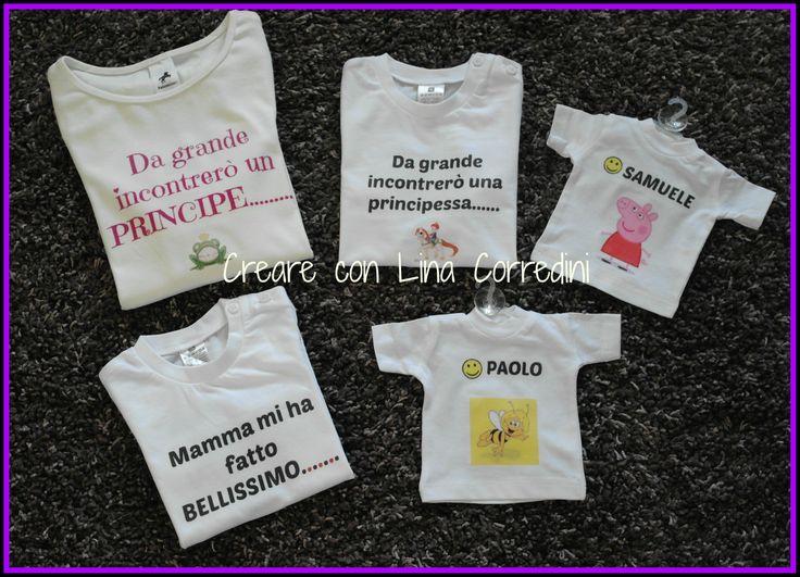 Stampe personalizzate su t-shirt e magliettine auto