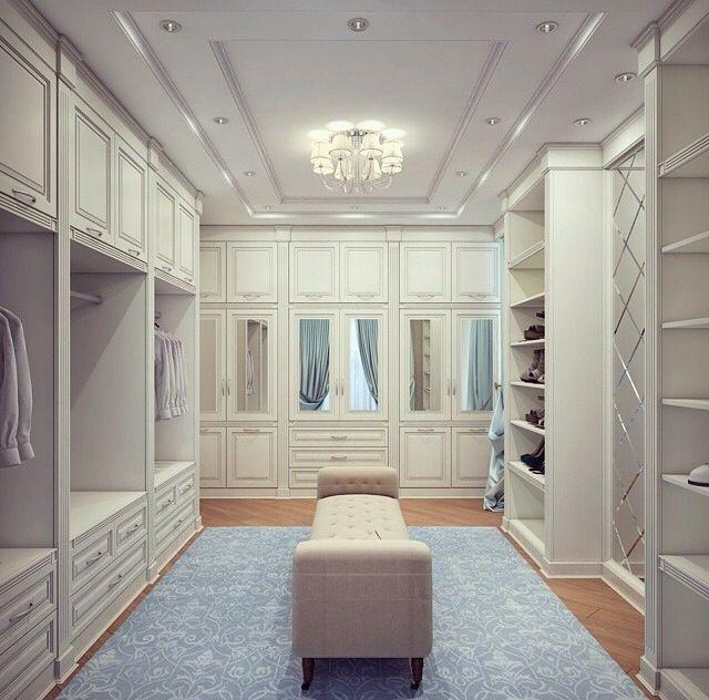 #luxuryclosets #luxurywardrobes Dream dressing areas #luxuryhomes