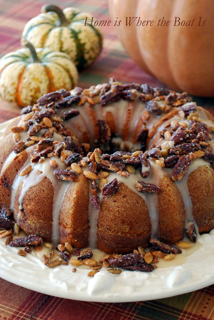 I saw this recipe for Cranberry-Apple-Pumpkin Bundt Cake in the Splurge-Worthy Thanksgiving Desserts in the November issue of Southern Living Magazine and couldn't wait to try it! We are not …