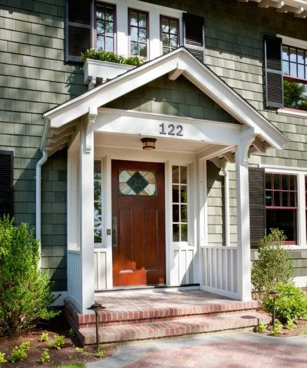 41 best great exterior color combos images on pinterest for Dark green exterior paint