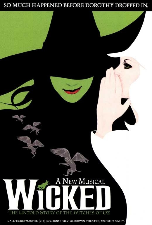 Wicked Broadway Poster