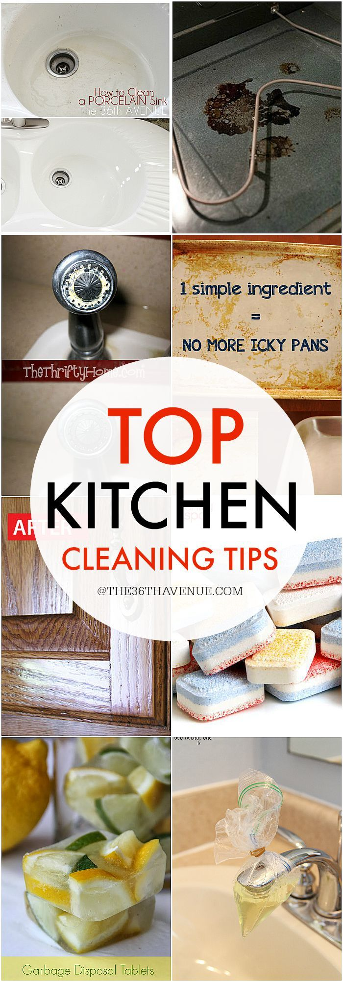 Top Kitchen Cleaning Tips Kitchen Hacks Cleaning Tips