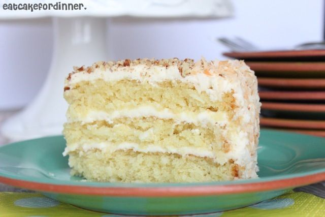 Italian cream cakes, Eat cake and Cream cake on Pinterest