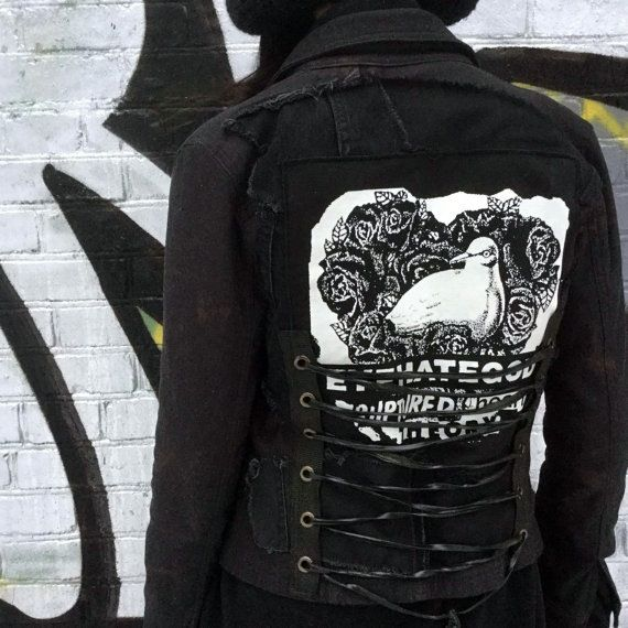 Image of Distressed women's jacket