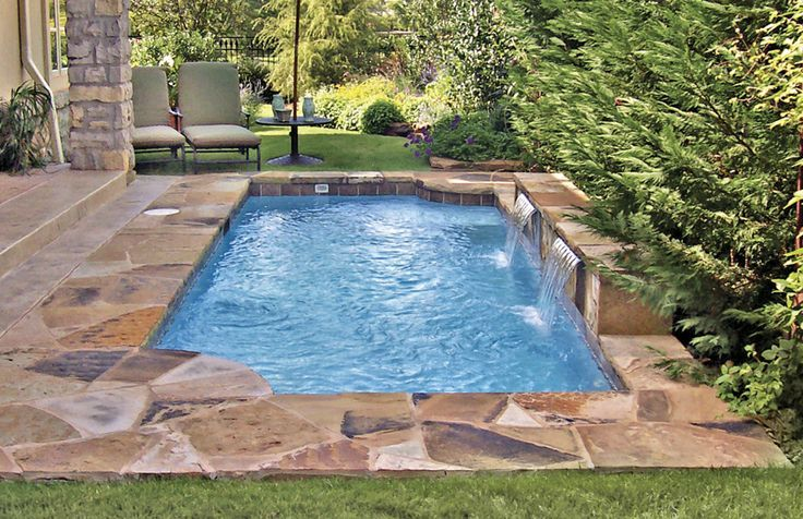 Small pool awesome inground pool designs pinterest ideas small pools and pools - Awesome small swimming pools designs to refresh backyard area ...