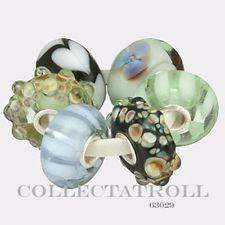 Authentic Trollbeads Silver Tuscany Kit - 6 Beads