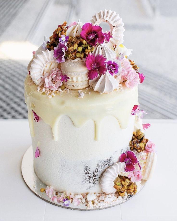 flower birthday cake ideas