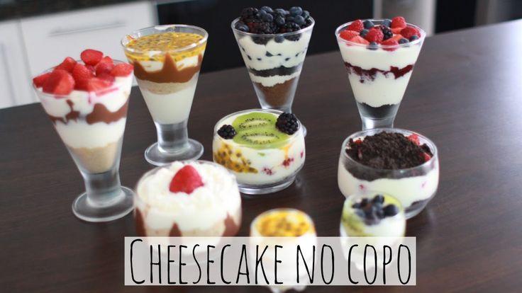 Cheesecake no Copo - Brincando de Ana Maria