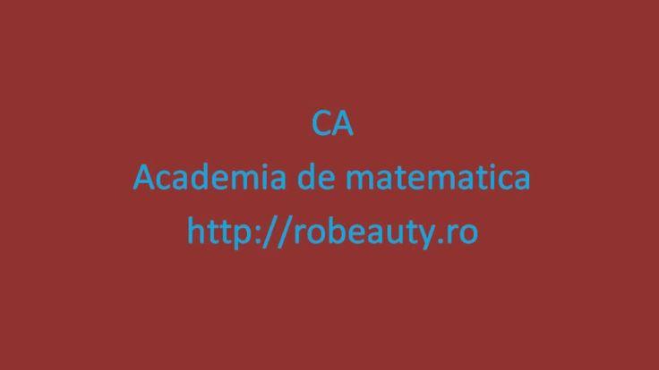 XII-Algebra-Morfisme de grupuri-Fixare