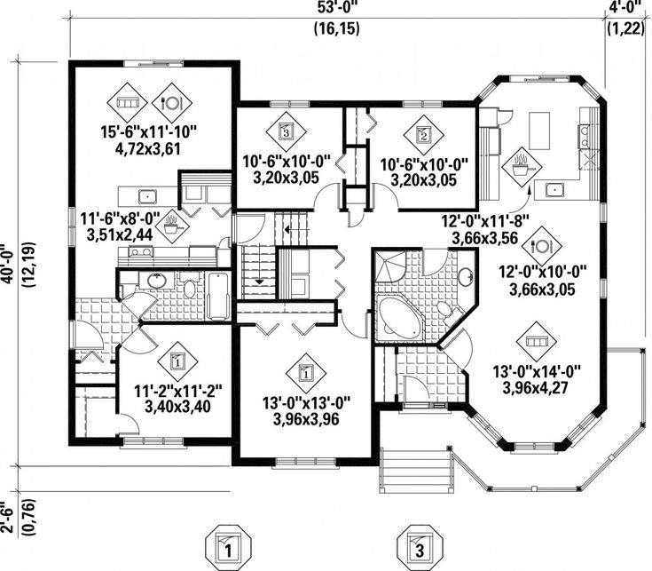 47 best House Plans images on Pinterest | Architecture, House ...