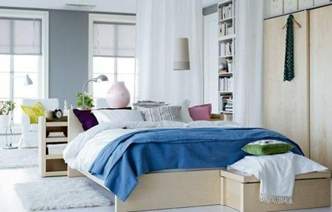 Home Decor, The Comfortable And White Brigh Ideas For Bedroom For Ikea Room Builder With The Neat And Great Furniture Arrangement With Shelf With Some Books And Also Flower Vase And Table Lamp With Rug And Floor Lamp ~ IKEA Room Builder That Has The Unique And Neat Design Ideas