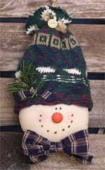 Clyde the snowman- so cute & easy to make!