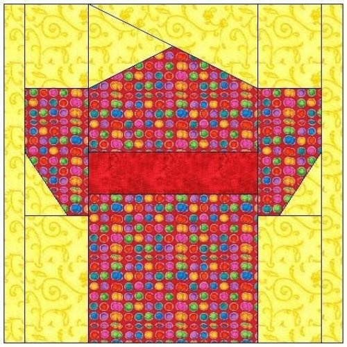 Asian quilt blocks
