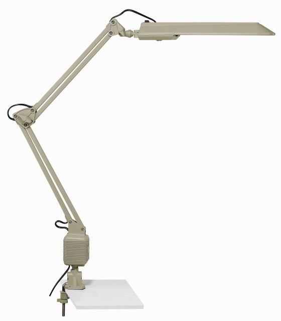 JOB - svietidlo na pracovný stôl titánovo šedé