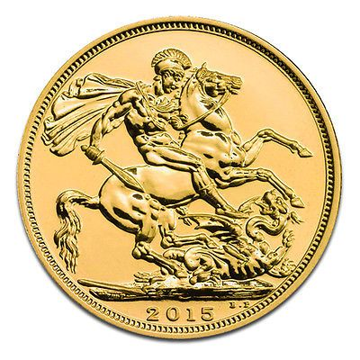 Sovereign Goldmünze aus Großbritannien Elisabeth II.