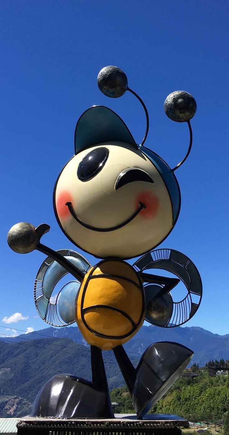 Metal bee