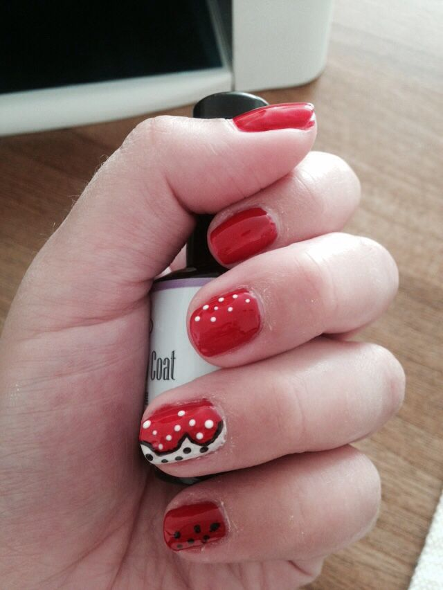 Dots red and white :)