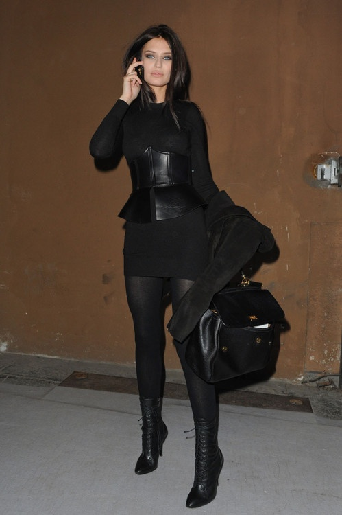 Bianca Balti Picture me like her dress up in black. That's ...