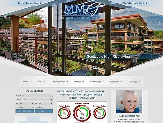 Website Real Estate Desain Terbaik - Mackey Martin Group - Scottsdale, AZ
