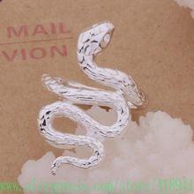 925 anel de prata, 925 jóias de prata, Cobra / bhrajyya egpamxwa AR273(China…