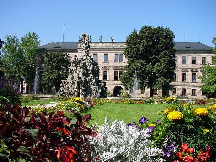 The castle of Erlangen.