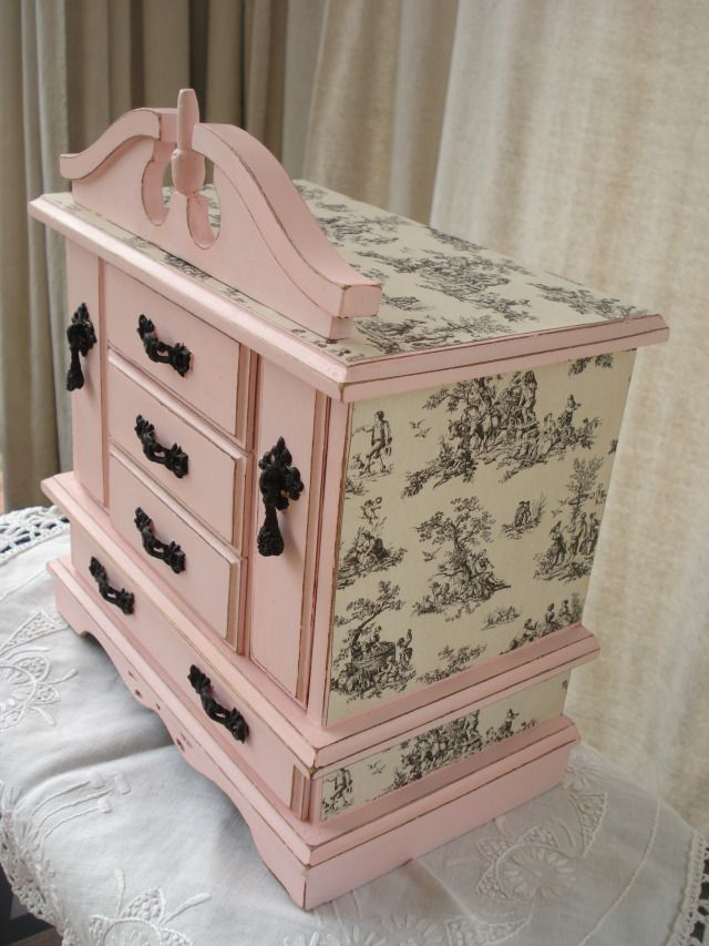 Jewelry Box Redo – colorfulhomeblog