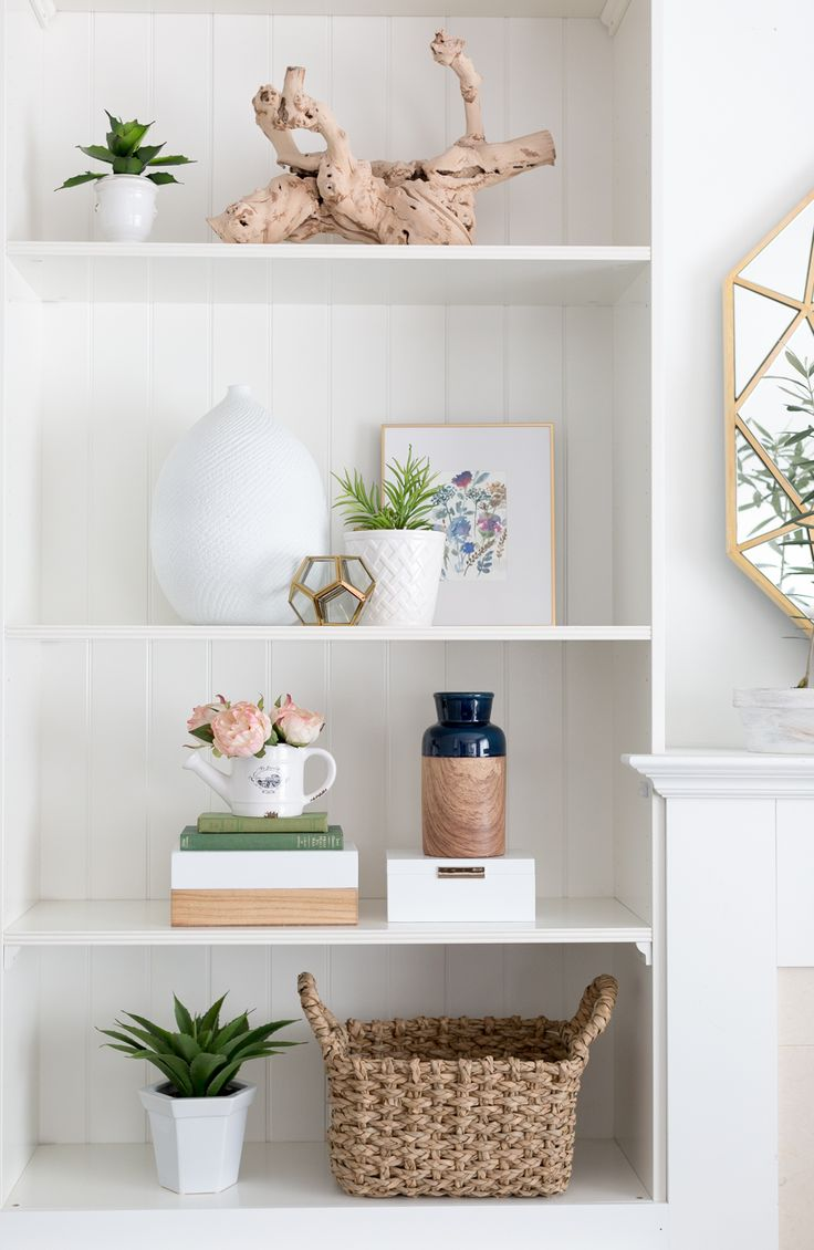 Best 25 decorate bookshelves ideas on pinterest how to - How to decorate shelves in living room ...