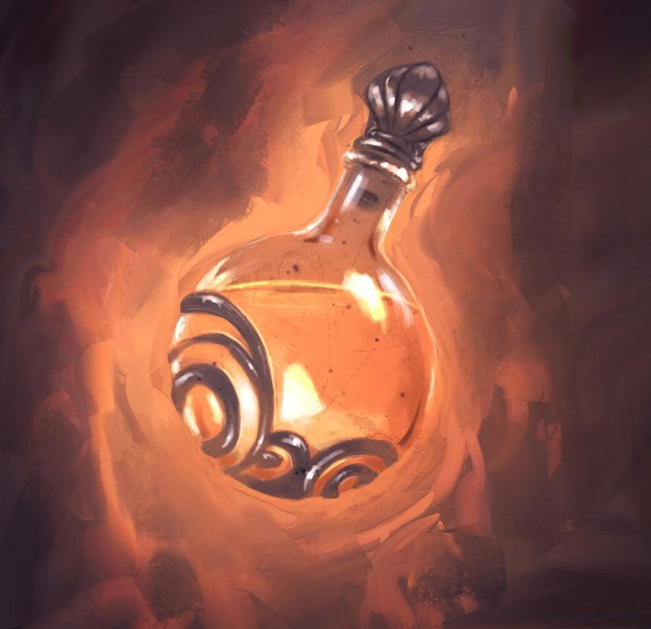 Alchemists Fire. A somewhat common alchemical concoction, Alchemists Fire explodes when violently disturbed and can be difficult to extinguish.