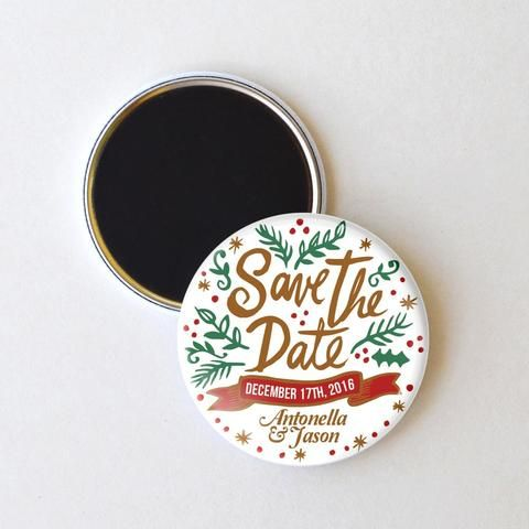 1000 images about Save the Date Magnets – Winter Wedding Save the Date Magnets