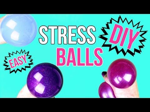 how to make stress balls softer