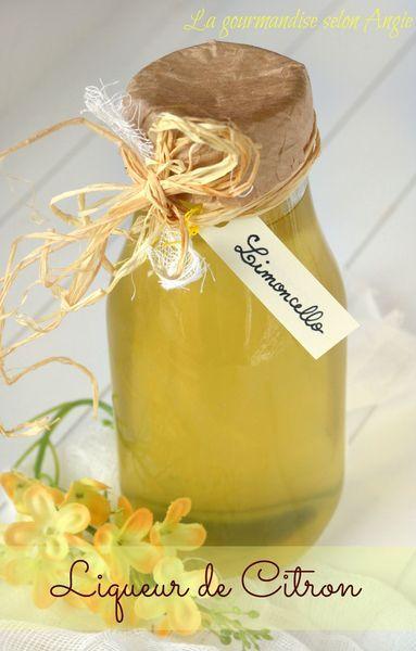liqueur citron limoncello recette maison