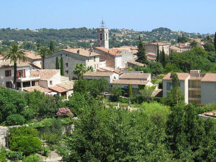 Vue de l'église du village, La Colle-sur-Loup #lacolle
