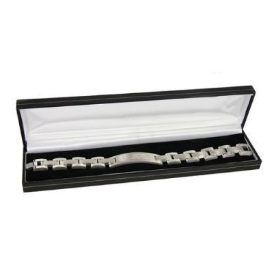 Personalised England Crest Stainless Steel Bracelet #England #SportsGifts £29.95