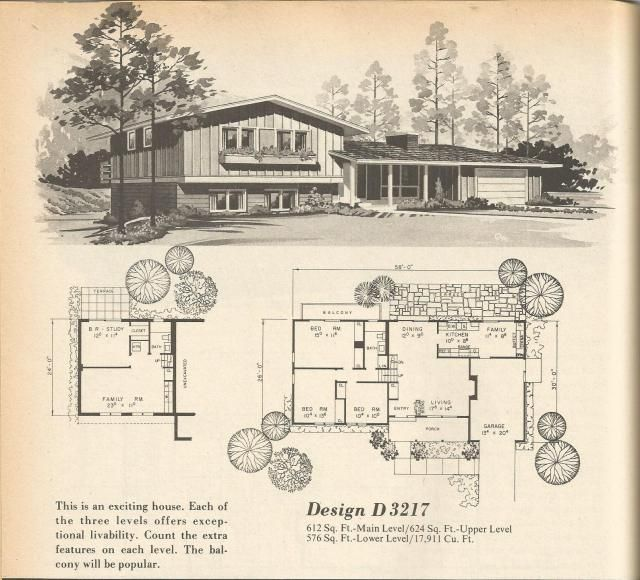 1000 Ideas About Split Level House Plans On Pinterest