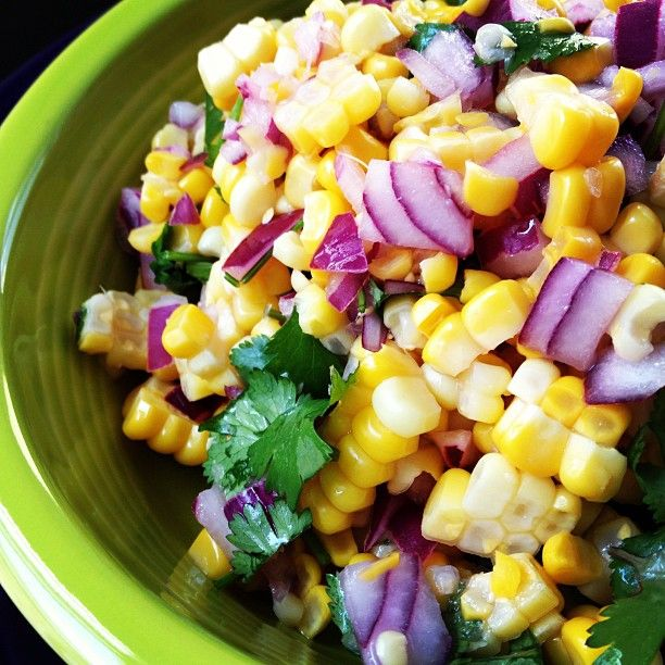 Corn Salsa | Gluten Free Recipes Fast
