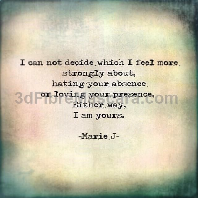 Quotes About Love: 17 Best Absence Quotes On Pinterest