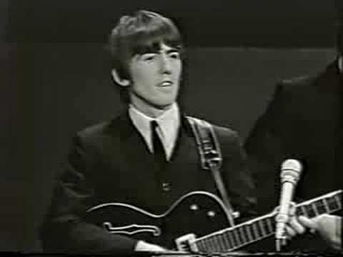 """The Beatles - Kansas City/Hey, Hey, Hey, Hey - live on Shindig in 1964 // I am pinning every Beatles song that Paul sang the lead in, for two reasons: (1) for a vocal comparison, and (2) because Paul was my favorite :-) //  from Wikipedia: """"Kansas City"""" is a rhythm and blues song written by Jerry Leiber and Mike Stoller in 1952...""""Hey-Hey-Hey-Hey!"""" is a song written by Little Richard which he usually performed as part of a medley with the Leiber and Stoller song """"Kansas City""""."""