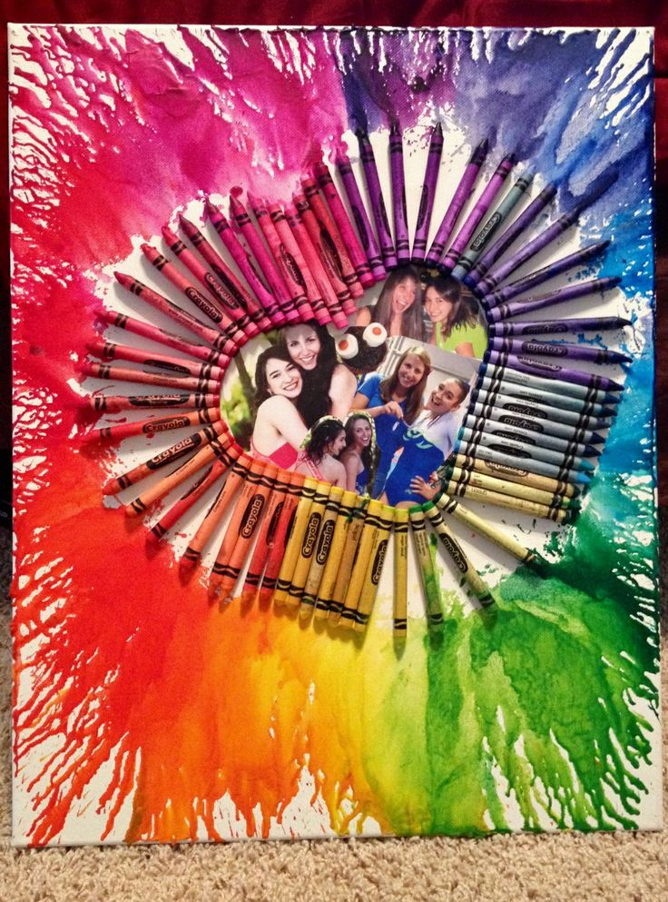 best friend craft ideas melted crayon 3440