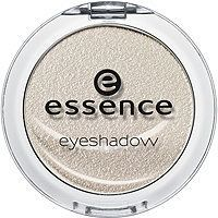 Essence - Eyeshadow in Snowflake 01 #ultabeauty / Supposed to be a good dupe for Becca's Pearl highlighter and not too shimmery, just gives a nice sheen. Need to get it!
