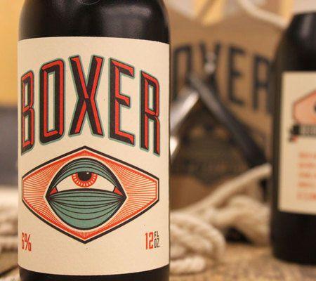 Boxer Lager Bottle