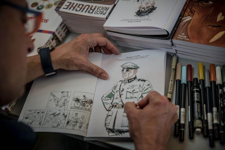 Stefano Casini dedica Di altre storie, di altre storie a Napoli Comicon