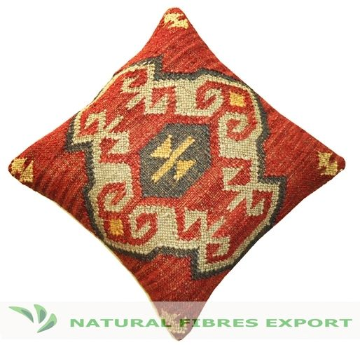 Are your looking for Kilim pillows for your room decoration? Then checkout this beautiful Kilim pillow covers for your room. This Kilim pillow cover is handmade using quality material like wool & jute.