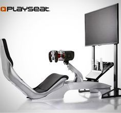 "Introducing the new Playseat @_playseat TV Stand Pro - the perfect solution for your Playseat gaming setup! Create the ultimate in-home setup for simulation racing and/or flight immersion with our newest accessory which supports all brands of TVs and monitors up to 50"" and VESA supports - expandable to 3 5 or even 7 screen setups with the Playseat TV Stand Pro 3S accessory kit (sold separately) - available now worldwide!! #expandyourmind #virtualreality #simulator #bringithome #sony #samsung…"