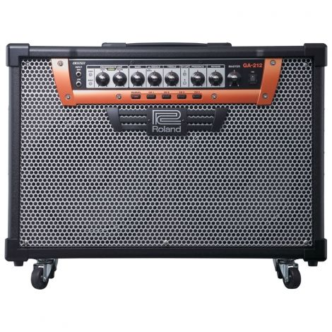 The GA-212 stage amplification system meets the rigorous demands of performing guitarists. Unlike modeling amps that set out to recreate the sound of multiple vintage classics, the GA-212 leverages Roland's renowned COSM technology to create newly-voiced amplifier with versatile, expressive tones and simple, intuitive operation.