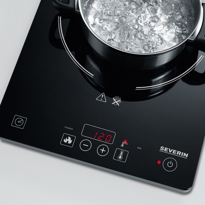 water kohen with induction cooker