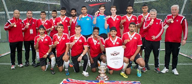 The Surrey United soccer team of British Columbia defeated Ajax FC of Ontario 3:0 to claim the 2014 Sport Chek National Club Championships U-18 Cup. #TrueSurrey
