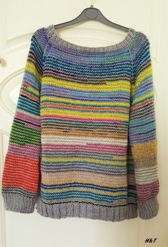 Stash bust oversized sweater