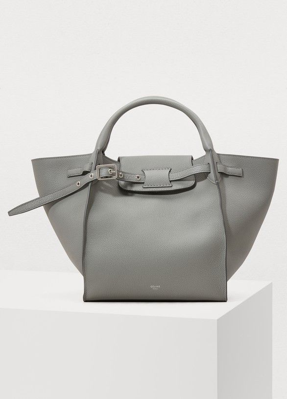 e0379468d219 Céline Small Big Bag with long strap in supple grained calfskin ...