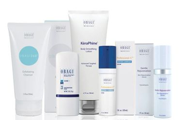 We have some new Obagi skincare products available for in-office purchase! Use KèraPhine™️ Body Smoothing Lotion every day to exfoliate and remove dead skin cells for healthy-looking skin. The Exfoliating Cleanser helps clear clogged pores to reveal a soft, smooth, and radiant complexion. Rare Swiss apple stem cell extract in the Skin Rejuvenating Serum helps to complement skin's natural cellular turnover. Stop in to learn more about these and other exciting skincare products!